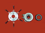 "ANNULAR SLAVE CYLINDER KIT FOR FF/S2000 USING 7.25"" RACING CLUTCH. (TILTON, AP OR QUARTERMASTER)"