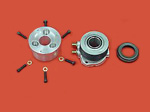 "ANNULAR SLAVE CYLINDER KIT FOR LOTUS CARS USING 3 3/8"" BELL HOUSING AND 7.25"" RACING CLUTCH (TILTON, AP OR QUARTERMASTER)"